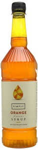Simply Orange Syrup - 1 Litre